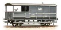 Bachmann 33-310 20T Toad Brake Van Old Oak Common 114950 GWR Dark Grey (weathered)